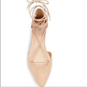 New Mossimo Lace Up ballet flats